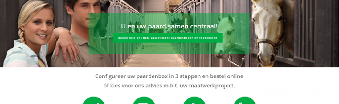 Nieuwe website Roosen Paardensport !